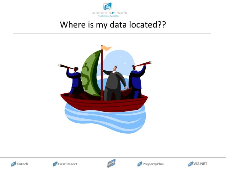 Where is my data located??