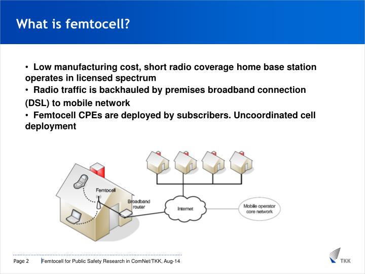 What is femtocell?