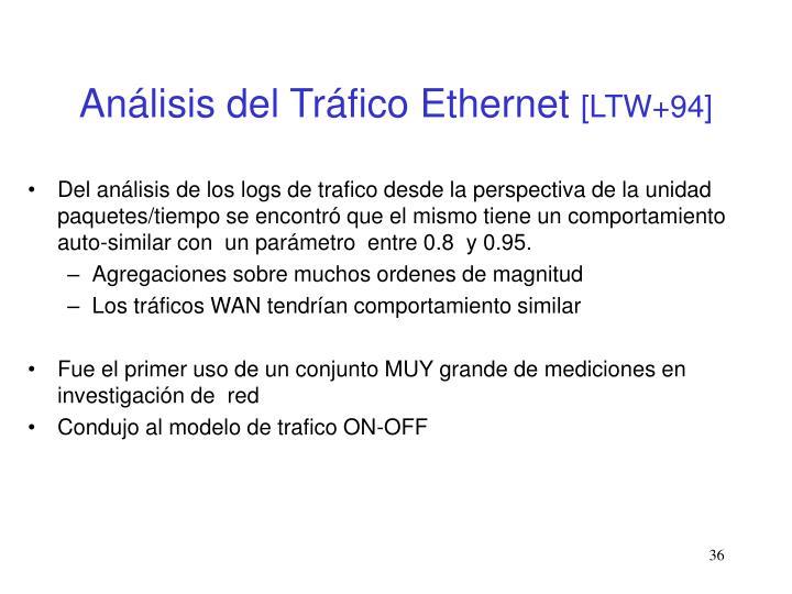 Análisis del Tráfico Ethernet