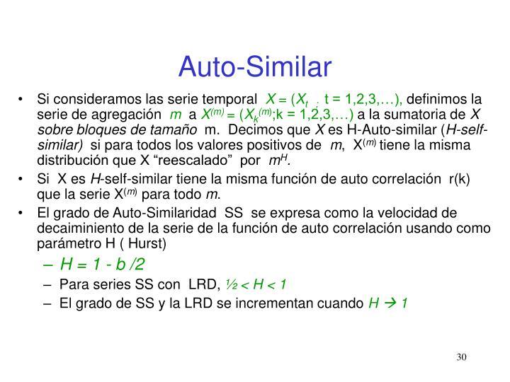 Auto-Similar