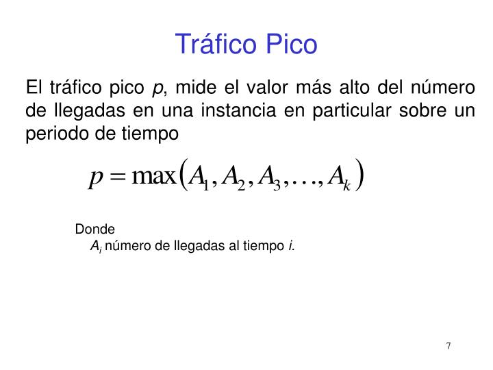 Tráfico Pico