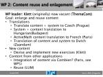wp 2 content reuse and enlagement