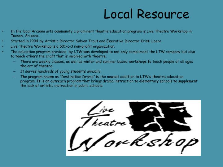 Local Resource