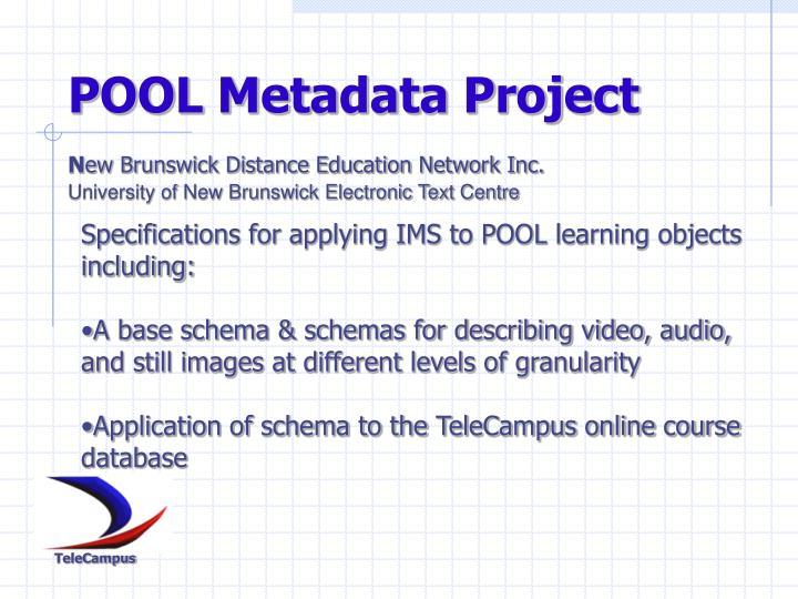 POOL Metadata Project
