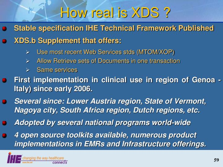 How real is XDS ?