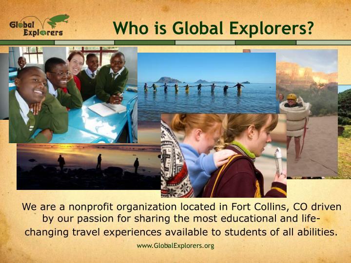 Who is Global Explorers?