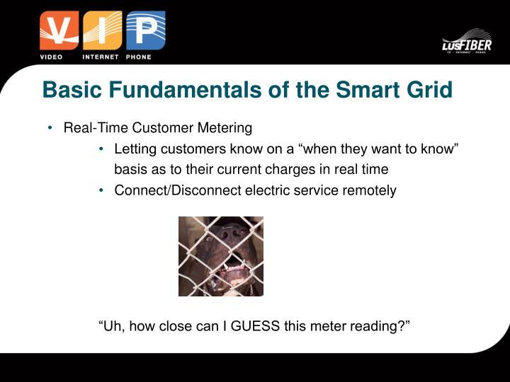 Basic Fundamentals of the Smart Grid