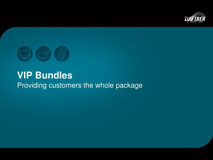 VIP Bundles