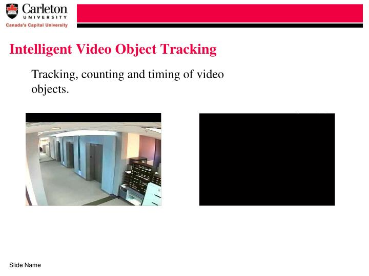 Intelligent Video Object Tracking