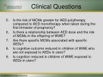 clinical questions2