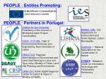 people entities promoting