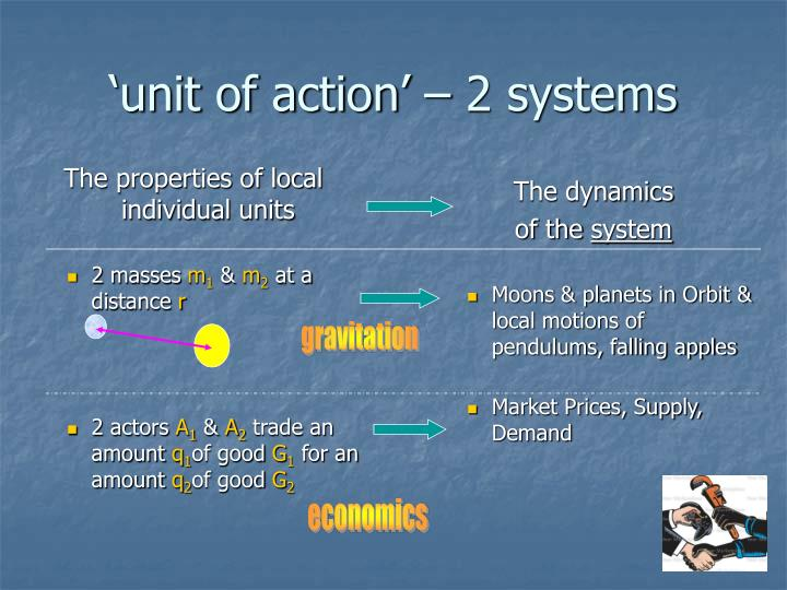 The properties of local individual units