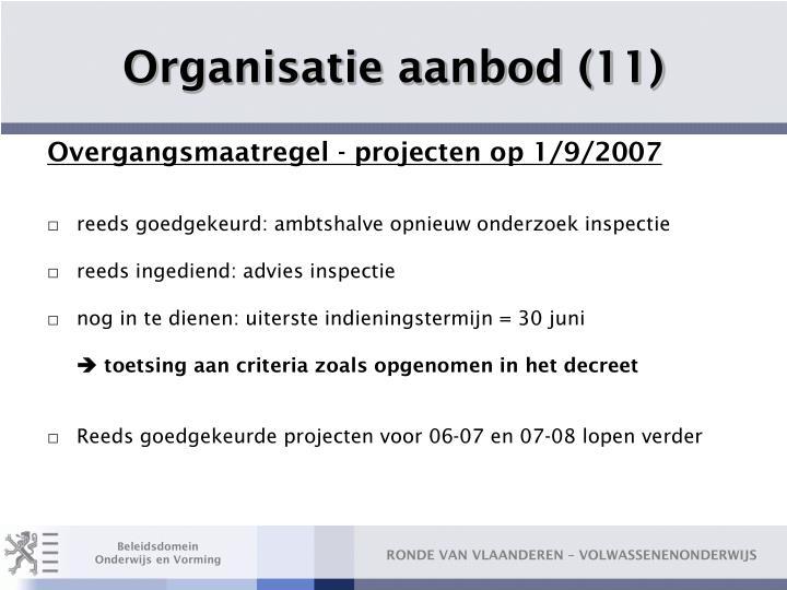 Organisatie aanbod (11)