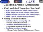 classifying parallel architectures
