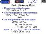 cost efficiency cont