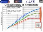 cost efficiency of reversibility