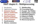 h p chapter 6 multiprocessing1