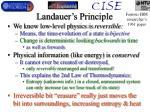 landauer s principle
