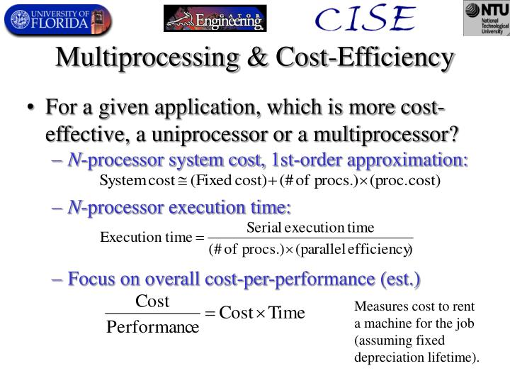 Multiprocessing & Cost-Efficiency