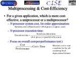 multiprocessing cost efficiency