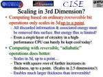 scaling in 3rd dimension