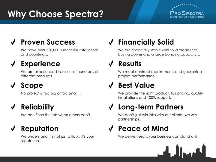 Why Choose Spectra?