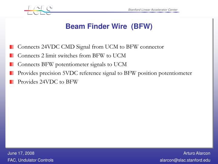 Beam Finder Wire  (BFW)