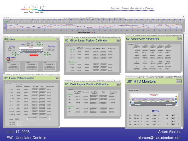 UCM Software - EDM Displays