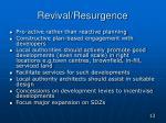 revival resurgence