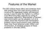 features of the market1