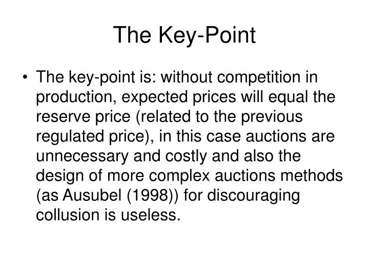 The Key-Point