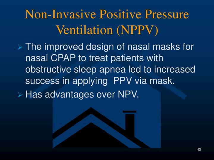 Non-Invasive Positive Pressure Ventilation (NPPV)