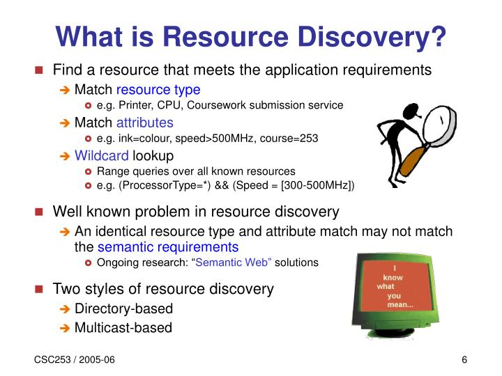 What is Resource Discovery?