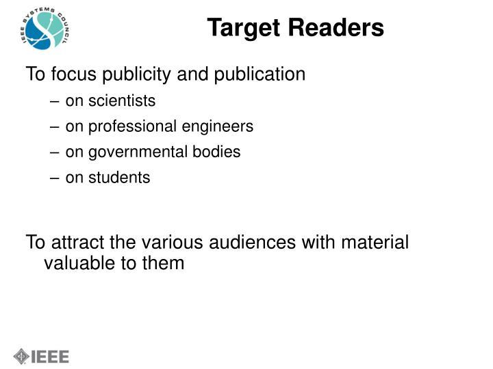 Target Readers