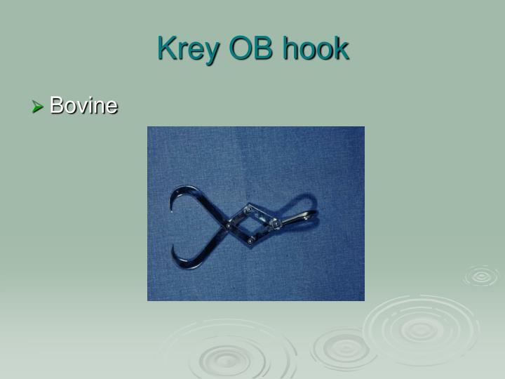 Krey OB hook