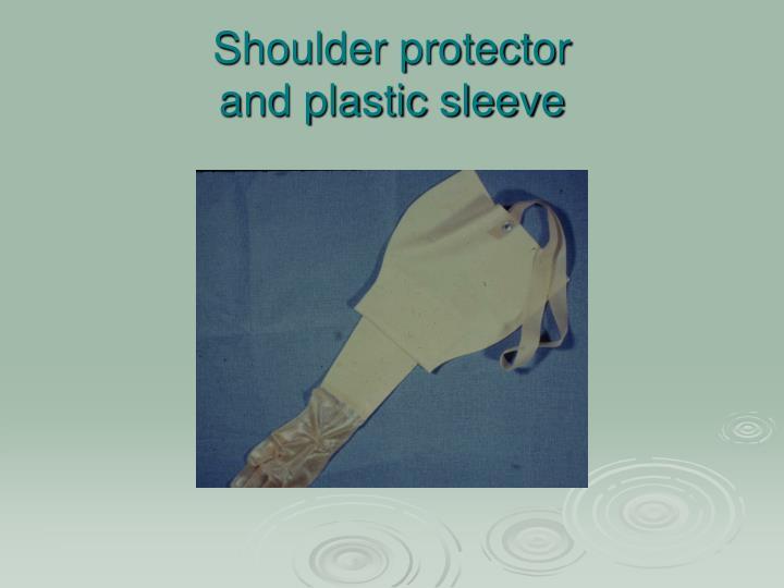 Shoulder protector