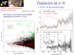 galaxies at z 6 6 8 of the cosmic age