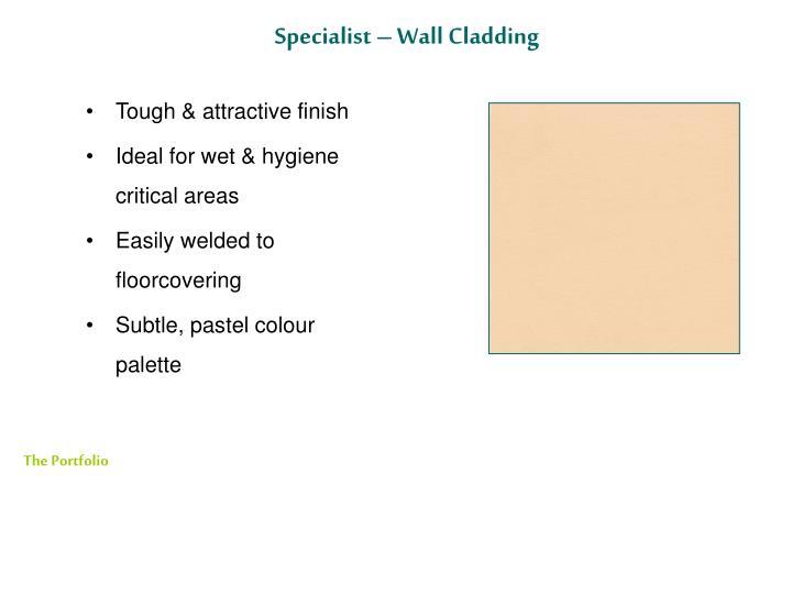 Specialist – Wall Cladding