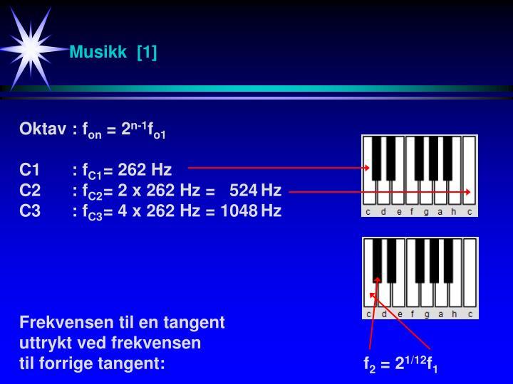 Musikk  [1]