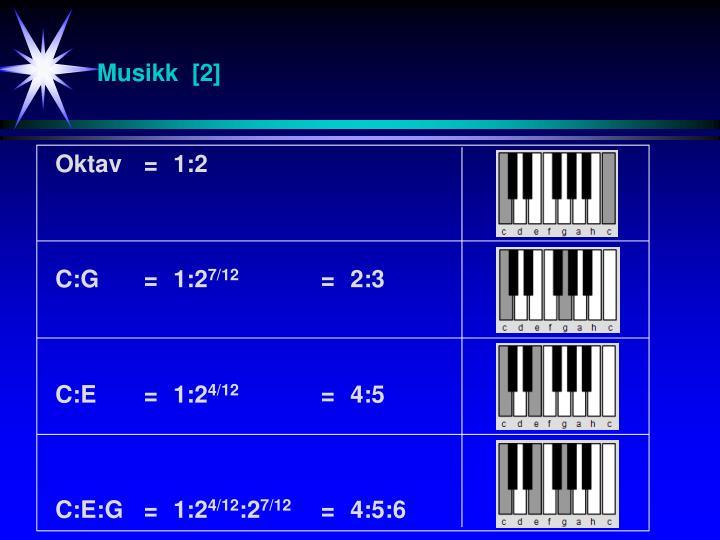 Musikk  [2]
