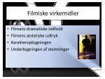 filmiske virkemidler1
