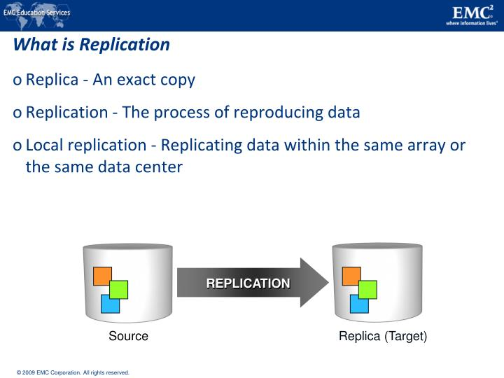 What is Replication