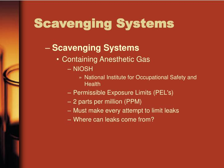 Scavenging Systems