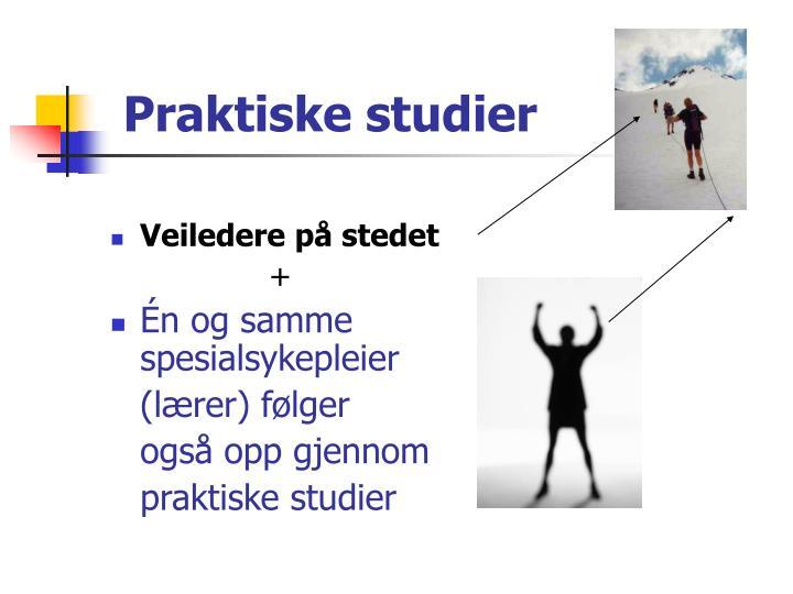Praktiske studier