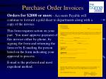 purchase order invoices2