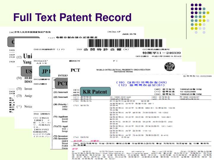 CN Patent