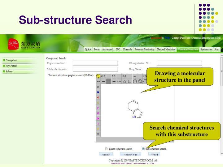 Sub-structure Search
