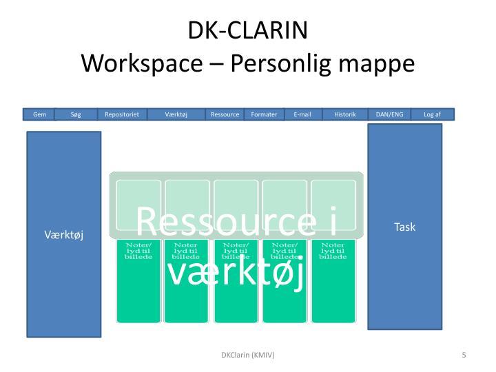 DK-CLARIN