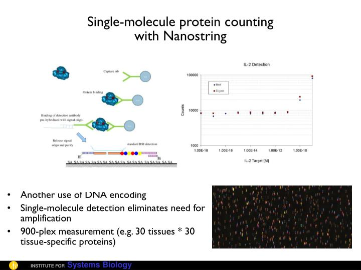Single-molecule protein counting