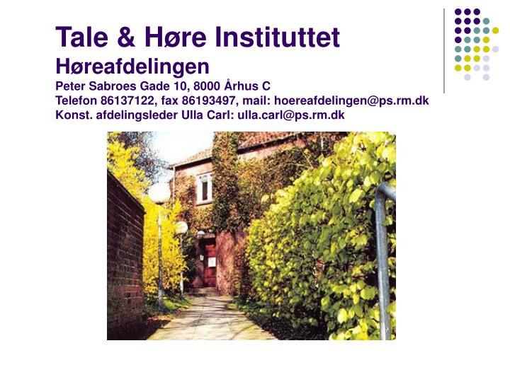 Tale & Høre Instituttet